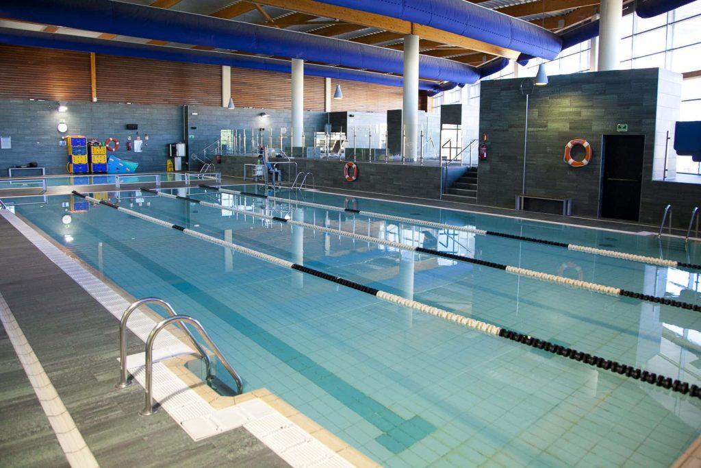 gimnasios con piscina